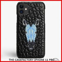 関税送料込☆THE CASEFACTORY☆IPHONE 11 PRO  SWAROVSKI ZEBRA