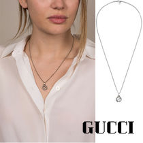 [GUCCI]*Interlocking G pendant*