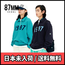 BTS着用ブランド【87MM】[Mmlg] 1987 HALF ZIP SWEAT