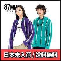 BTS着用ブランド【87MM】[Mmlg] STRIPE MOHAIR CARDIGAN