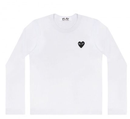 COMME des GARCONS Tシャツ・カットソー レディース PLAYCOMME des GARCONS  長袖Tシャツ ハートロゴ(2)