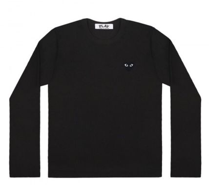 COMME des GARCONS Tシャツ・カットソー レディース PLAYCOMME des GARCONS  長袖Tシャツ ハートロゴ(5)