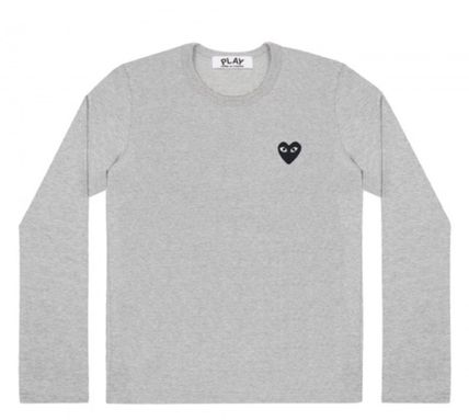 COMME des GARCONS Tシャツ・カットソー レディース PLAYCOMME des GARCONS  長袖Tシャツ ハートロゴ(6)