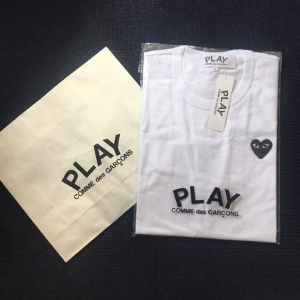 COMME des GARCONS Tシャツ・カットソー レディース PLAYCOMME des GARCONS  長袖Tシャツ ハートロゴ(7)