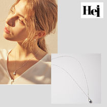 Hei・ヘイ Water drop long necklace ロングネックレス