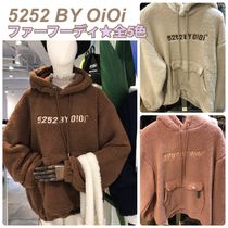 2019FW★新作【5252 by OiOi】5252 POCKET FUR HOODIE