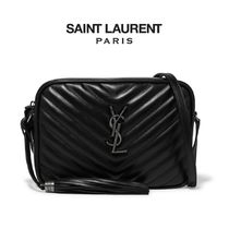 ∞∞ Saint Laurent ∞∞ Lou quilted leather ショルダーバッグ