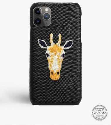 THE CASE FACTORY スマホケース・テックアクセサリー 関税送料込☆THE CASEFACTORY☆IPHONE 11 PRO SWAROVSKI GIRAFFE(2)