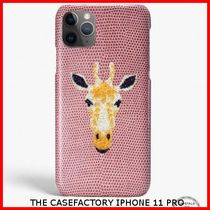 関税送料込☆THE CASEFACTORY☆IPHONE 11 PRO SWAROVSKI GIRAFFE