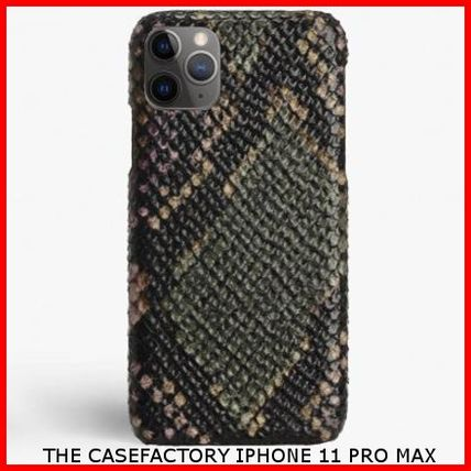 THE CASE FACTORY スマホケース・テックアクセサリー 関税送料込☆THE CASEFACTORY☆IPHONE 11 PRO MAX PYTHON