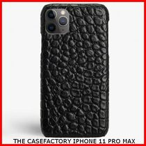関税送料込☆THE CASEFACTORY☆IPHONE 11 PRO MAX CROCODILE