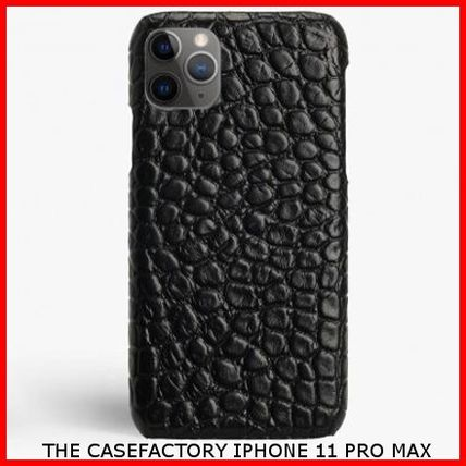 THE CASE FACTORY スマホケース・テックアクセサリー 関税送料込☆THE CASEFACTORY☆IPHONE 11 PRO MAX CROCODILE