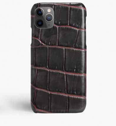 THE CASE FACTORY スマホケース・テックアクセサリー 関税送料込☆THE CASEFACTORY☆IPHONE 11 PRO MAX CROCODILE(2)