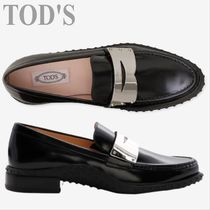 TOD'S  Moccasin Black Leather