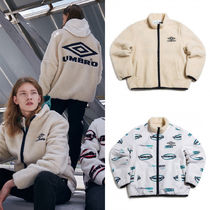 [UMBRO] BASIC REVERSIBLE FLEECE ZIP UP BEIGE フリース