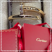 Cartier - JUSTE UN CLOU RING PINK or Yellow GOLD Diamonds