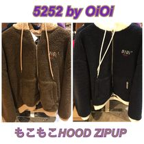 2019FW★新作【5252 by OiOi】TWO TONE SHEARLING HOOD ZIPUP