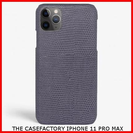 THE CASE FACTORY スマホケース・テックアクセサリー 関税送料込☆THE CASEFACTORY☆IPHONE 11 PRO MAX LIZARD
