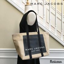 MARC JACOBS(マークジェイコブス) トートバッグ 【数量限定セール!】MARC JACOBS * Canvas Logo Tote