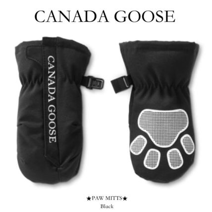 CANADA GOOSE 手袋 【CANADA GOOSE】ベビー手袋● PAW MITTS ●フリース裏地