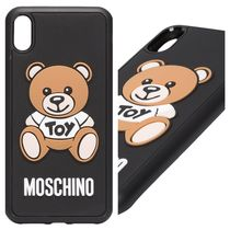 【MOSCHINO】iPhone☆XSmax☆定番テディ☆