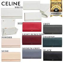 累積売上総額第1位!【CELINE】LARGE FLAP WALLET_10B563BEL