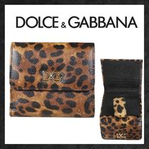【DOLCE&GABBANA】レオパードプリントフレンチウォレット 19SS