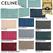 累積売上総額第1位!【CELINE】ZIPPED CARD HOLDER_10B683BEL
