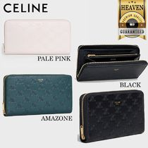 累積売上総額第1位!【CELINE】LARGE ZIPPED WALLET_10B553BFU