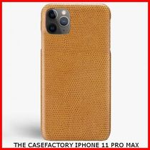 関税送料込☆THE CASEFACTORY☆IPHONE 11 PRO MAX LIZARD