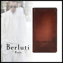 19AW BERLUTI Scritto Leather IPhone Xs Folio Cover ケース