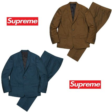 Supreme スーツ 19FW Week8 Supreme Sharkskin Suit スーツ セットアップ S~XL