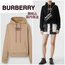 【BURBERRY】バーバリー☆over sized logo hoodie ロゴパーカー