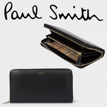 Paul Smith ポールスミス  Men's Large Black Leather Wallet