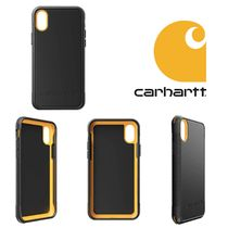 【Carhartt】日本未入荷 UNISEX BULLNOSE iPhone case  iPhone X