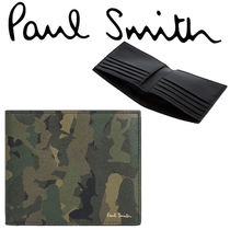 Paul Smith ポールスミス  Men's 'Naked Lady Camo Wallet