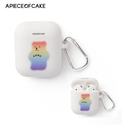 A PIECE OF CAKE スマホケース・テックアクセサリー A PIECE OF CAKE★限定販売★ Mistic Bear AIRPODS Case
