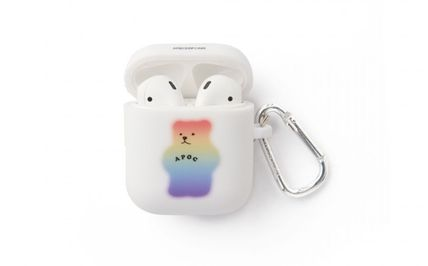 A PIECE OF CAKE スマホケース・テックアクセサリー A PIECE OF CAKE★限定販売★ Mistic Bear AIRPODS Case(4)