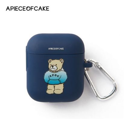 A PIECE OF CAKE スマホケース・テックアクセサリー A PIECE OF CAKE★限定販売★ Hoodie Bear AIRPODS Case