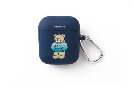 A PIECE OF CAKE スマホケース・テックアクセサリー A PIECE OF CAKE★限定販売★ Hoodie Bear AIRPODS Case(2)