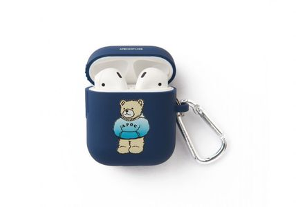 A PIECE OF CAKE スマホケース・テックアクセサリー A PIECE OF CAKE★限定販売★ Hoodie Bear AIRPODS Case(3)