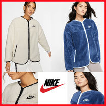 完売必須!★NIKE★NSW Fleece FZ Plush Fleece Pool House Flush