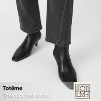 Toteme :: トーテム The Med Heel Boots