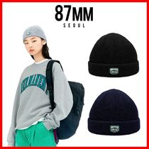 ☆韓国の人気☆【87MM】☆[Mmlg] MMLG KNITCAP☆3色☆