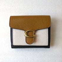 COACH 76302【完売色】Tabby Small Wallet In Colorblock