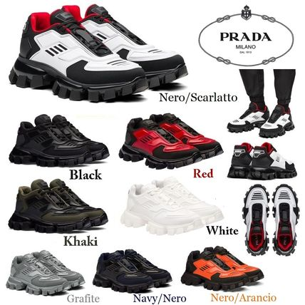 PRADA スニーカー 【PRADA】クラウドバストサンダー ニットスニーカー*2EG293_3KZU