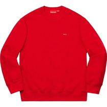 【Supreme】Small Box Crewneck /week8/2019AW レッド