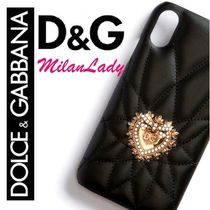 DOLCE&GABBANA2019AW IPHONE XR カバー カーフスキン DEVOTION