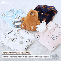 ◆SPAO×WE BARE BEARS◆モコモコ冬シーズンパジャマセット(4色)
