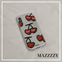 MZZZZY☆韓国ジェリーケース☆awesome cherry☆スマホケース